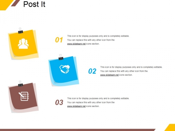 Post It Ppt PowerPoint Presentation Slides Graphics Design