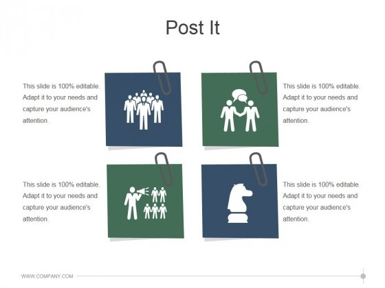 Post It Ppt PowerPoint Presentation Slides