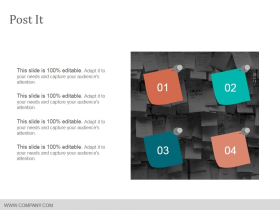 Post It Ppt PowerPoint Presentation Styles Rules
