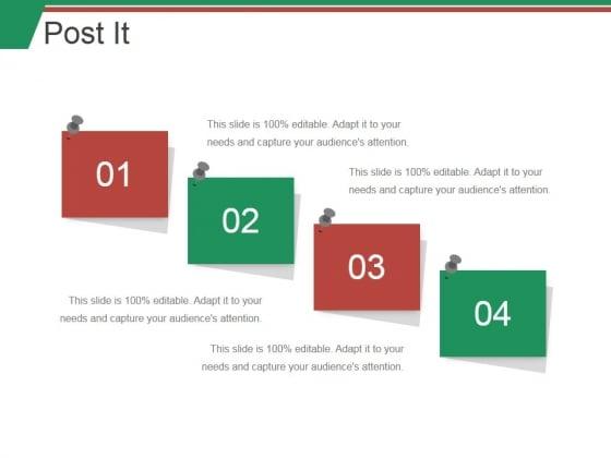 Post It Ppt PowerPoint Presentation Styles Slides