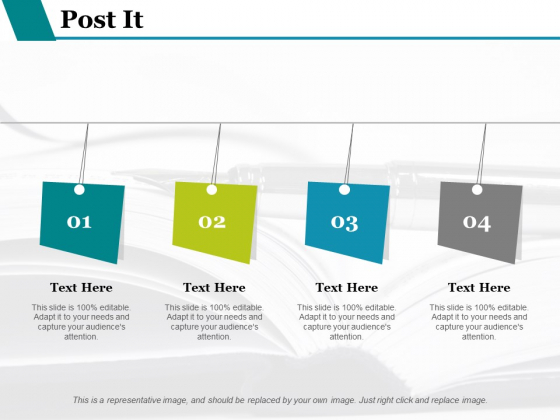 Post It Ppt PowerPoint Presentation Summary Designs