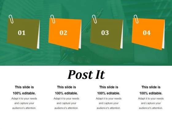 Post It Ppt PowerPoint Presentation Summary Ideas