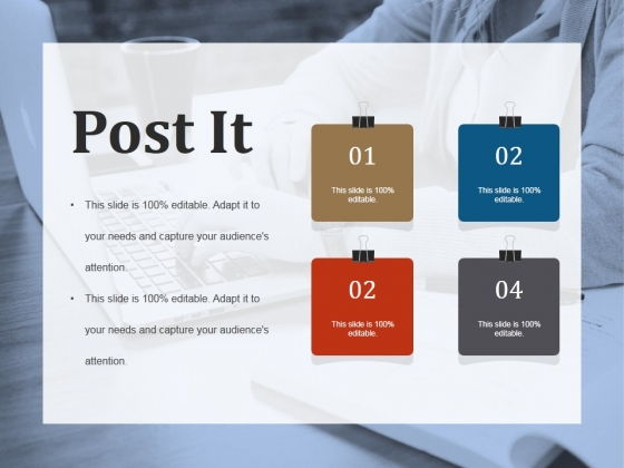 Post It Ppt PowerPoint Presentation Summary Information