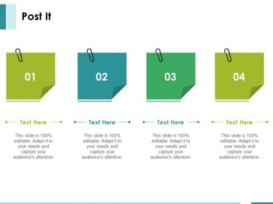 Post It Ppt PowerPoint Presentation Visual Aids Portfolio