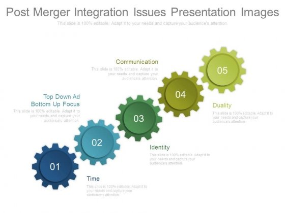 Post Merger Integration Issues Presentation Images