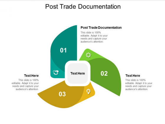 Post Trade Documentation Ppt PowerPoint Presentation Outline Clipart Images Cpb Pdf