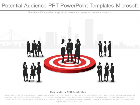 Potential Audience Ppt Powerpoint Templates Microsoft