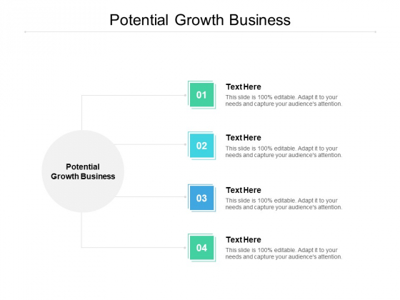 Potential Growth Business Ppt PowerPoint Presentation Styles Shapes Cpb