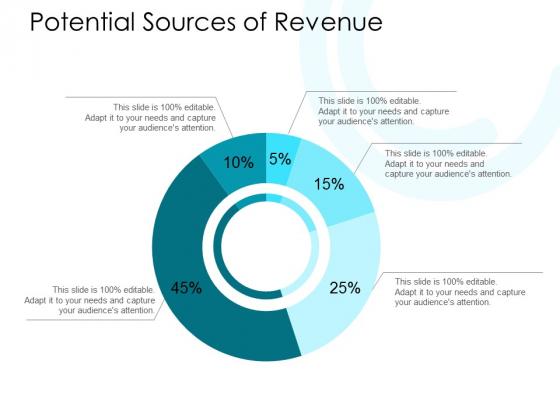 Potential Sources Of Revenue Ppt PowerPoint Presentation Inspiration Diagrams