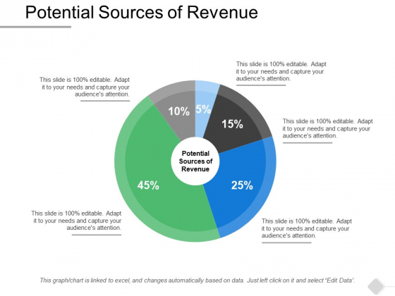 Potential Sources Of Revenue Ppt PowerPoint Presentation Outline Themes