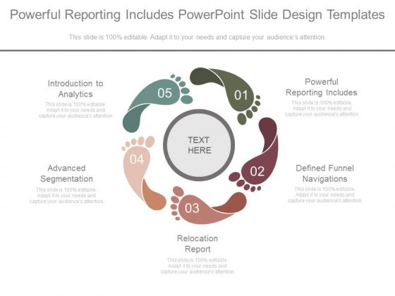 Powerful Reporting Includes Powerpoint Slide Design Templates