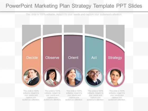 Powerpoint Marketing Plan Strategy Template Ppt Slides