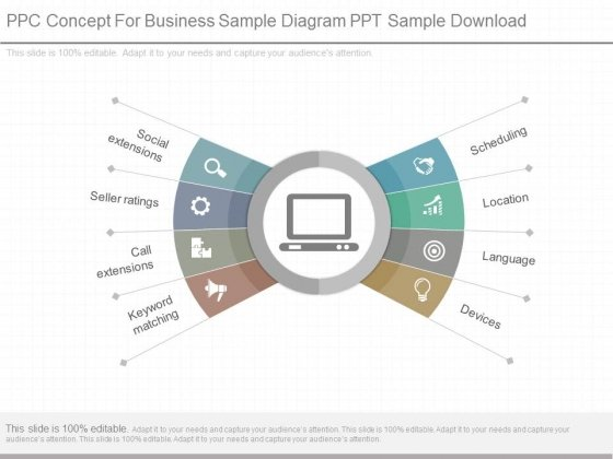 Ppc Concept For Business Sample Diagram Ppt Sample Download