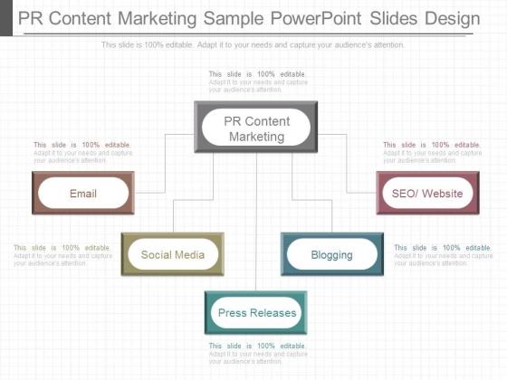 Pr Content Marketing Sample Powerpoint Slides Design
