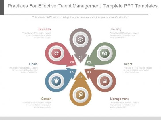 Practices For Effective Talent Management Template Ppt Templates