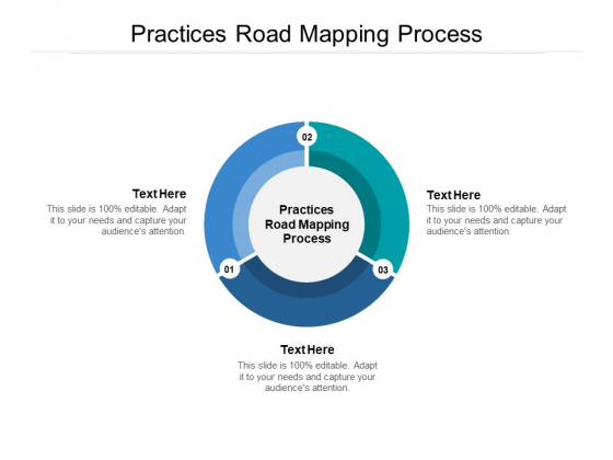 Practices Road Mapping Process Ppt PowerPoint Presentation File Outfit Cpb