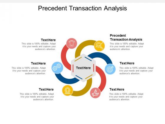 Precedent Transaction Analysis Ppt PowerPoint Presentation Portfolio Slide Download Cpb Pdf