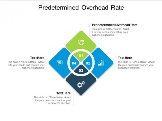 Predetermined Overhead Rate Ppt PowerPoint Presentation Layouts Format Ideas Cpb