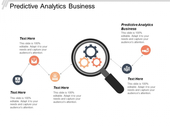 Predictive Analytics Business Ppt Powerpoint Presentation Gallery Shapes Cpb