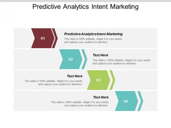Predictive Analytics Intent Marketing Ppt PowerPoint Presentation Summary Graphics Design Cpb