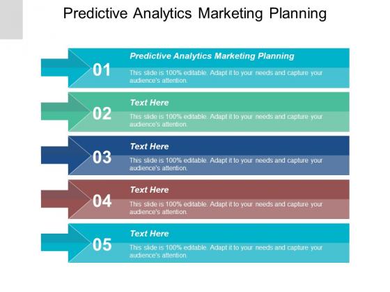 Predictive Analytics Marketing Planning Ppt PowerPoint Presentation Gallery Background Designs Cpb