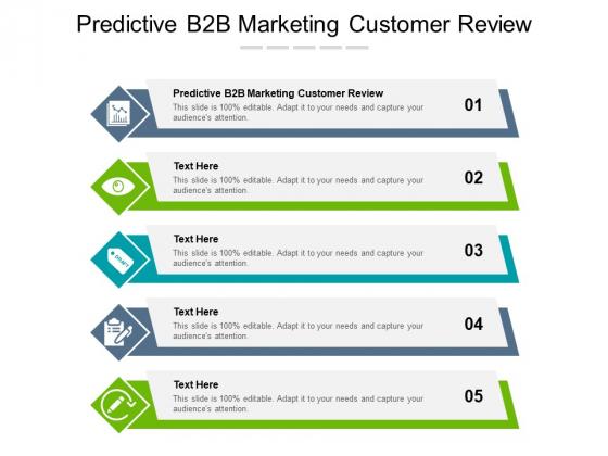Predictive B2B Marketing Customer Review Ppt PowerPoint Presentation Summary Guide Cpb Pdf