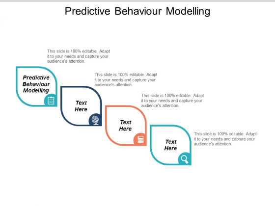 Predictive Behaviour Modelling Ppt PowerPoint Presentation Inspiration Deck Cpb