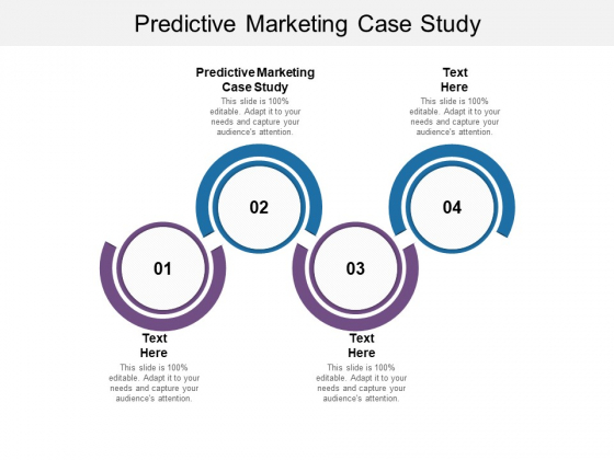 Predictive Marketing Case Study Ppt PowerPoint Presentation Ideas Background Images Cpb Pdf