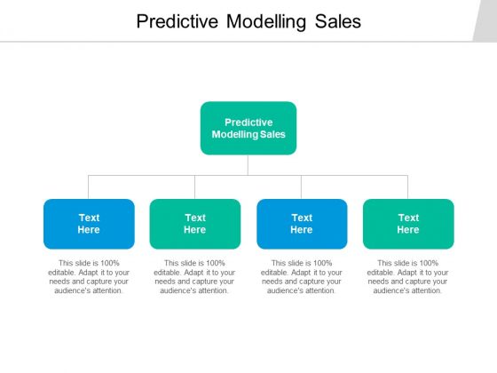 Predictive Modelling Sales Ppt PowerPoint Presentation Inspiration Format Ideas Cpb