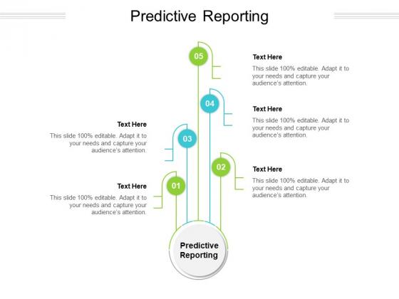 Predictive Reporting Ppt PowerPoint Presentation File Topics Cpb Pdf