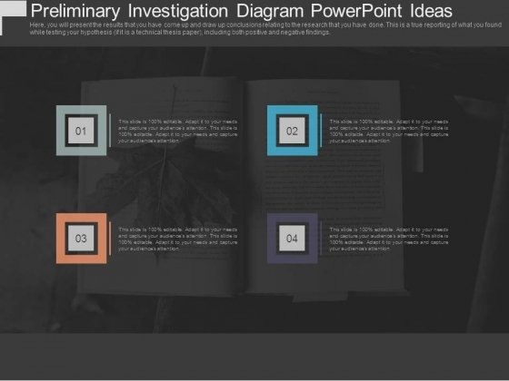 Preliminary Investigation Diagram Powerpoint Ideas