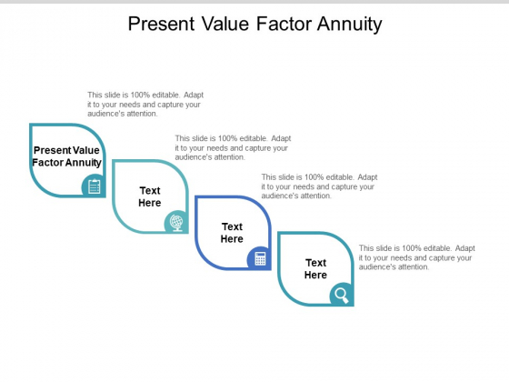 Present Value Factor Annuity Ppt PowerPoint Presentation Infographic Template Ideas Cpb Pdf