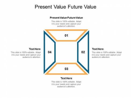 Present Value Future Value Ppt PowerPoint Presentation Infographic Template Aids Cpb