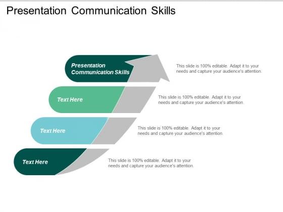 Presentation Communication Skills Ppt PowerPoint Presentation Inspiration Design Inspiration Cpb