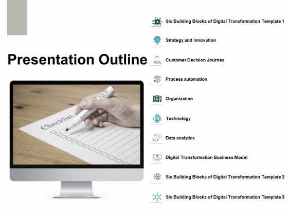 Presentation Outline Ppt PowerPoint Presentation Gallery Templates
