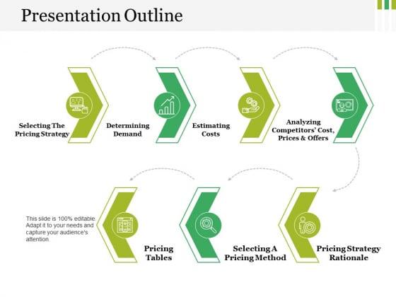 Presentation Outline Ppt PowerPoint Presentation Portfolio File Formats