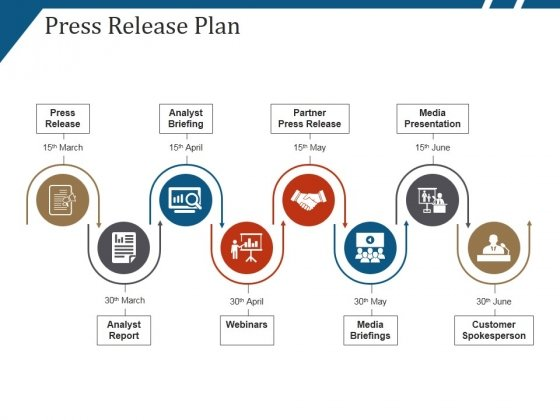 Press Release Plan Ppt PowerPoint Presentation Outline Icons