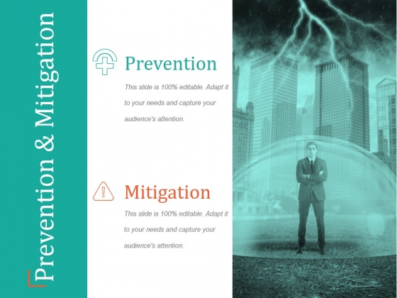 Prevention And Mitigation Ppt PowerPoint Presentation Design Ideas