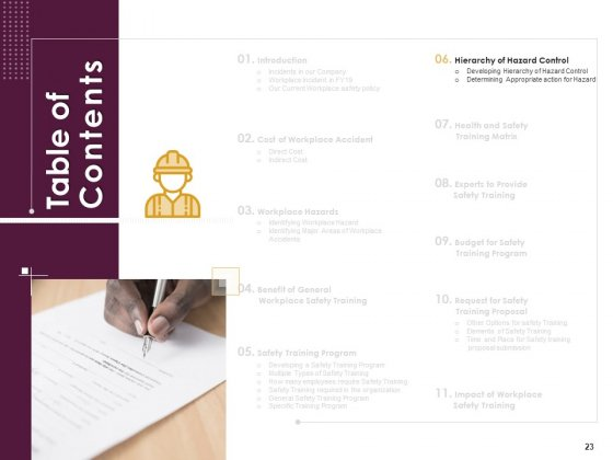 Preventive_Measures_At_Workplace_Ppt_PowerPoint_Presentation_Complete_Deck_With_Slides_Slide_23