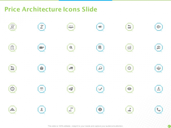 Price Architecture Icons Slide Ppt PowerPoint Presentation Styles Graphics Tutorials PDF