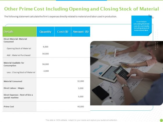 Price_Architecture_Other_Prime_Cost_Including_Opening_And_Closing_Stock_Of_Material_Ppt_PowerPoint_Presentation_Gallery_Visuals_PDF_Slide_1