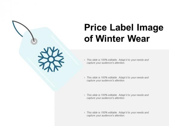Price Label Image Of Winter Wear Ppt PowerPoint Presentation Slides Model