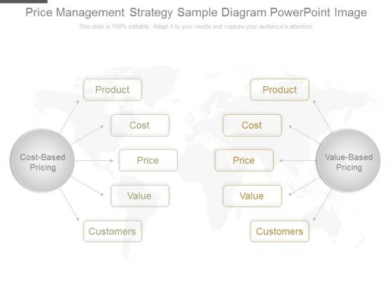 Price Management Strategy Sample Diagram Powerpoint Image