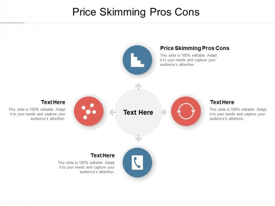 Price Skimming Pros Cons Ppt PowerPoint Presentation Model Infographics Cpb