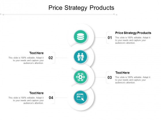 Price Strategy Products Ppt PowerPoint Presentation Slides Download Cpb Pdf