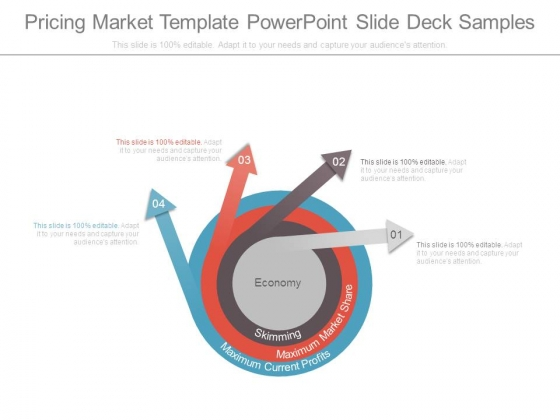 Pricing Market Template Powerpoint Slide Deck Samples
