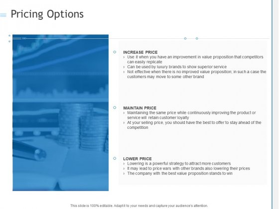 Pricing Options Ppt PowerPoint Presentation Slides Templates PDF
