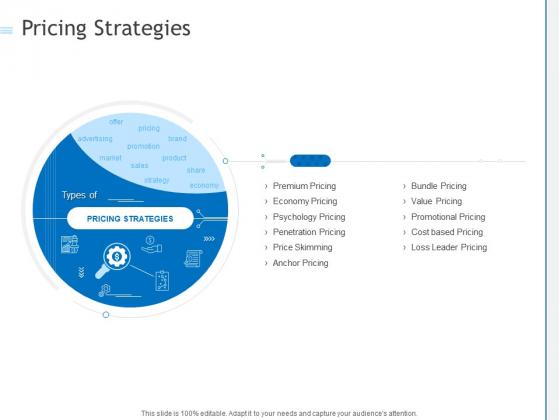 Pricing Strategies Ppt PowerPoint Presentation Show Portrait PDF