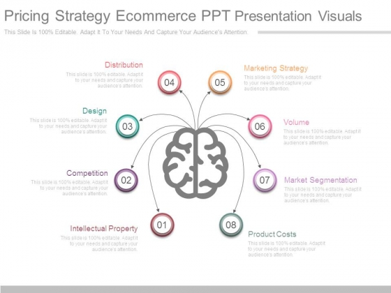Pricing Strategy Ecommerce Ppt Presentation Visuals