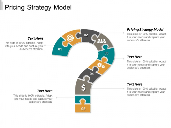 Pricing Strategy Model Ppt PowerPoint Presentation Styles Smartart Cpb